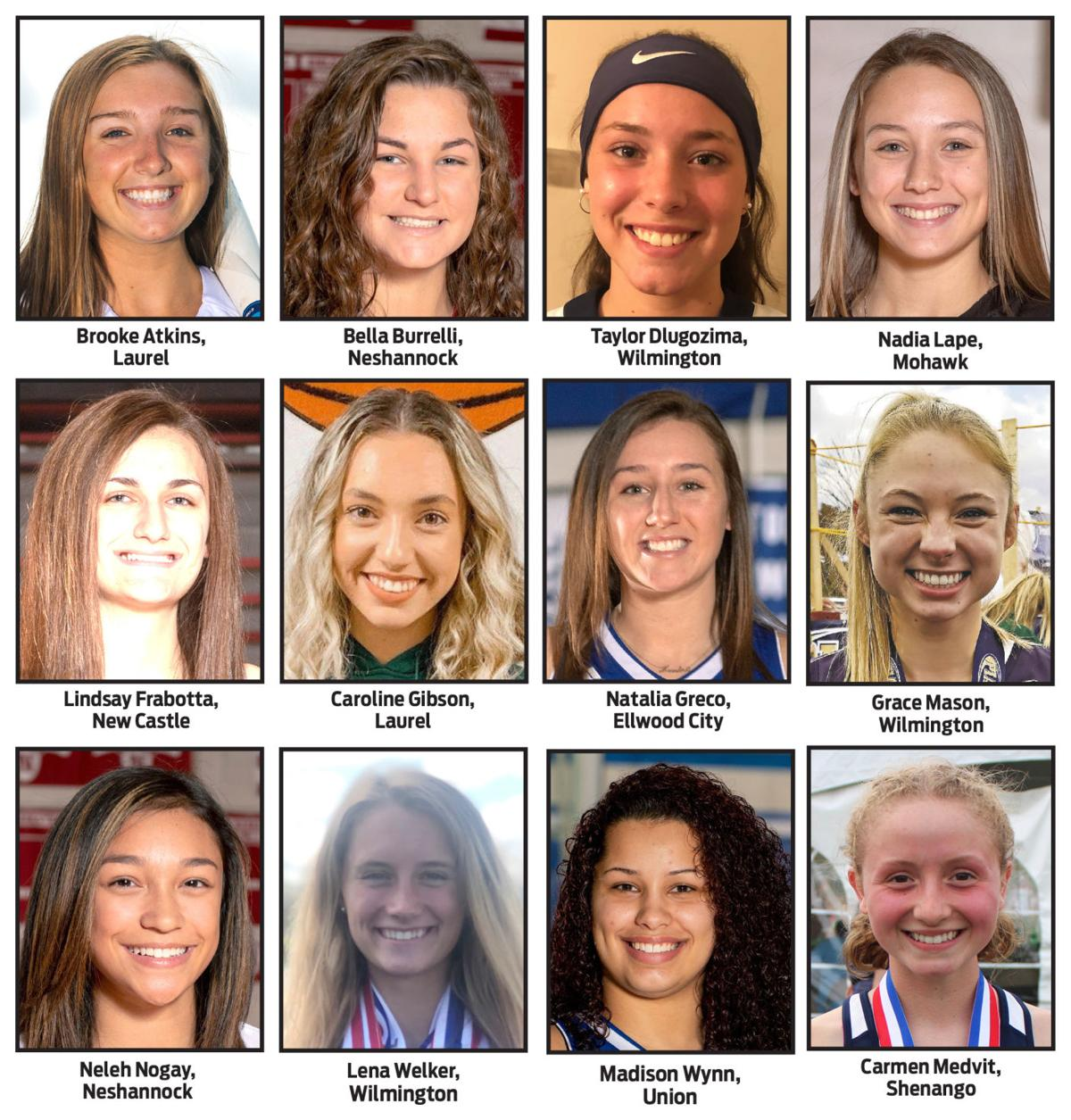 Girls athlete of the year candidates
