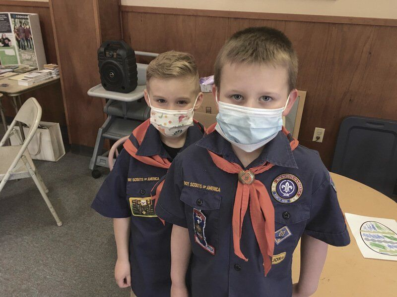 Group of women reviving Cub Scout pack