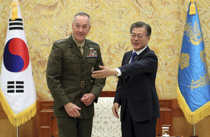 US Preparing Military 'Options' Against North Korea: Dunford