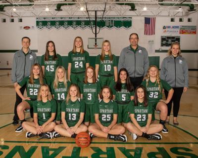 Laurel girls team photo