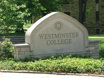 Westminster College stock image