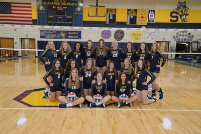 Shenango girls volleyball team