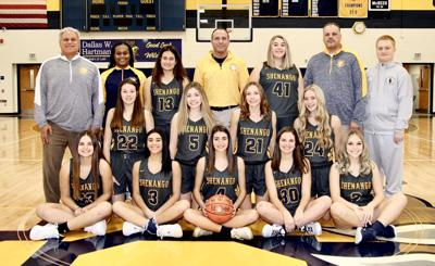 Shenango girls team photo
