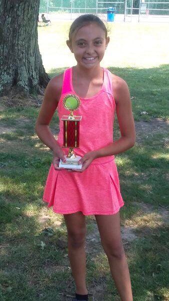 Locals win tennis titles
