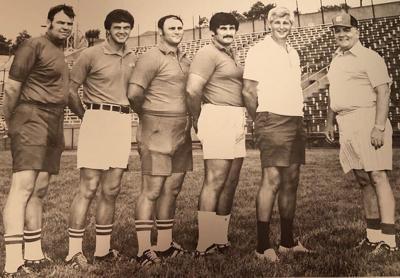 Chuck Cuba and staff
