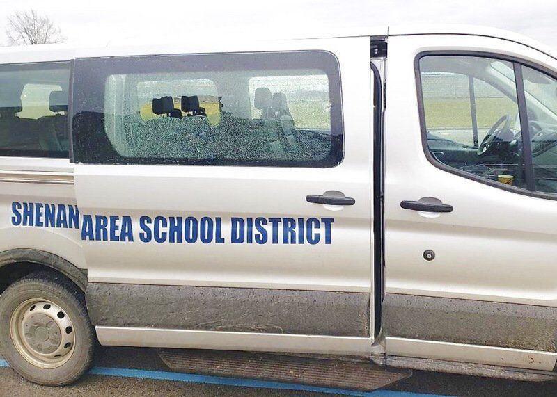 Man who shot at school van pleads guilty