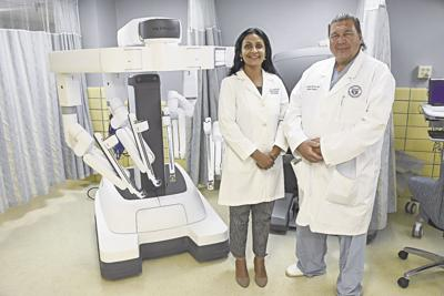 Dr. Sheetal Nijhawan and Dr. Randy Hofius