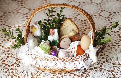 Polish Easter baskets filled with tradition