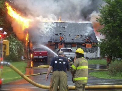 Coroner on scene at Neshannock Township fire