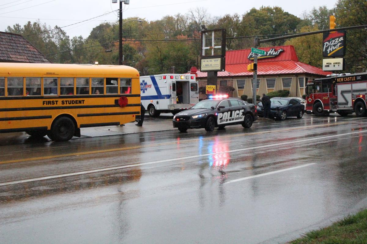 Car Accident In Front Of Jefferson School