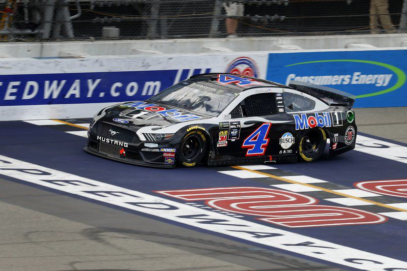 Harvick captures NASCAR Monster Energy Cup victory
