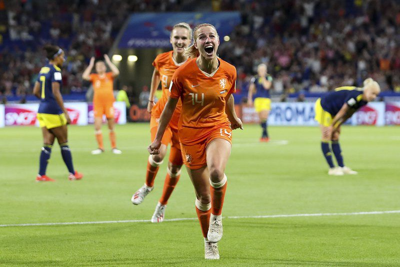 Dutch beat Swedes to set up Women's World Cup final with U.S.