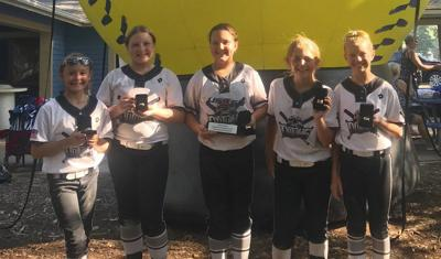 County girls shine in national softball event