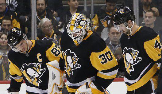 Crosby's OT winner lifts Penguins past Flyers; Murray hurt