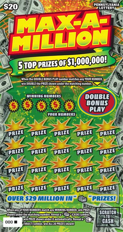 Local man wins $1 million on scratch-off lottery ticket