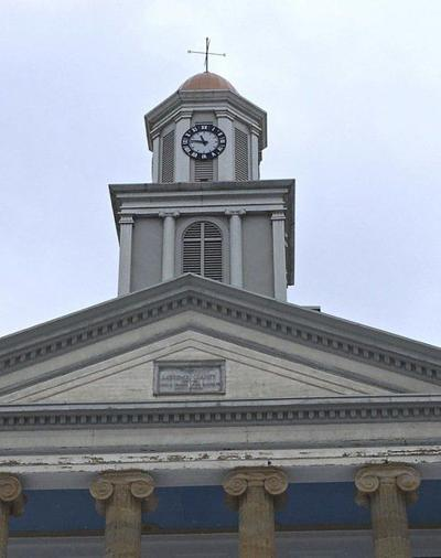 Courthouse clock tower quieter these days
