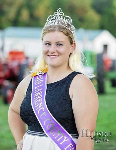 Fair queen reigns over farm show this week