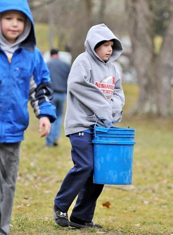 Photo Gallery: Annual trout stocking in Neshannock Creek