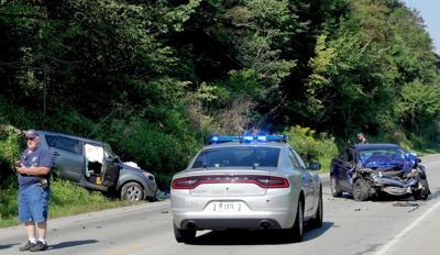 Crash sends three to hospital