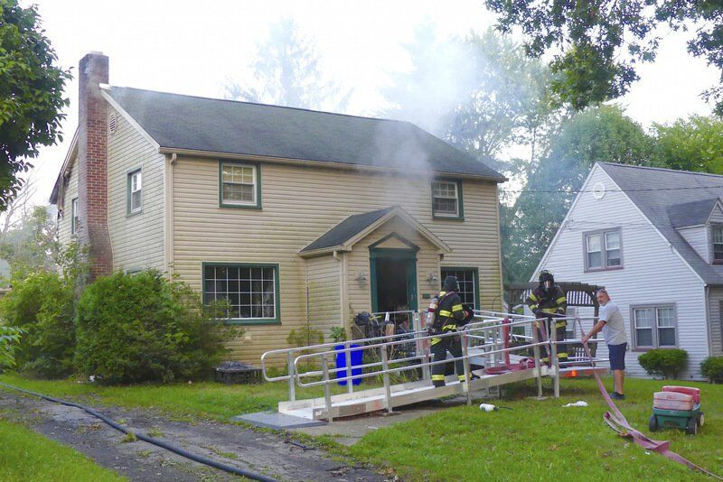 Fire guts North Hill home