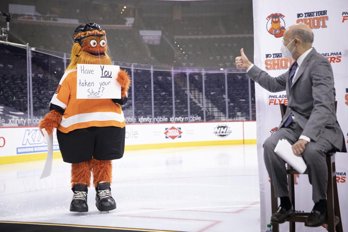Gov. Wolf Joins Philadelphia Flyers Organization to Encourage Pennsylvanians to 'Take Your Shot'
