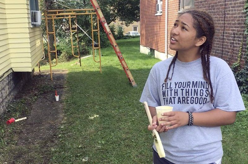 Out-of-town teens fix North Hill homes