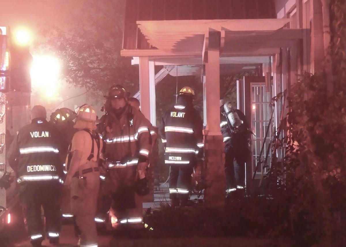 Firefighters respond to blaze at former Village Inn