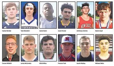 Twelve boys bidding for athlete of year award