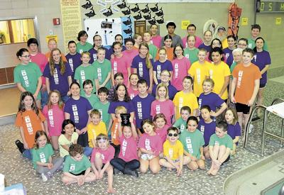 New Castle YMCA youth swimmers