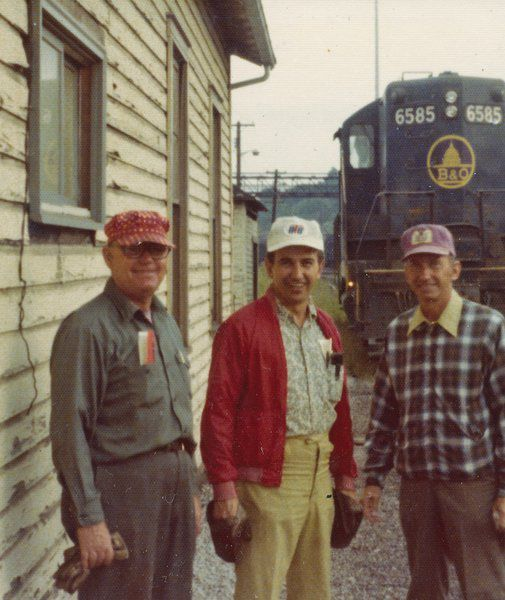 The lure of the railroad Memories of days gone by
