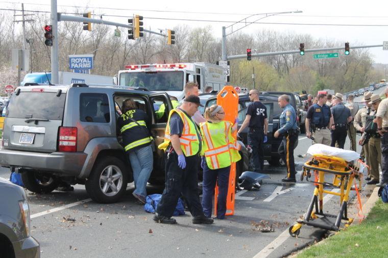 Pencader Plaza carjacking ends in five-car pileup | News
