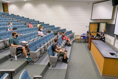 UD socially distanced class