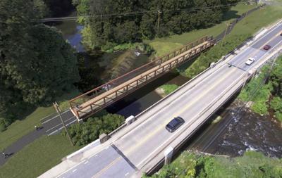 Paper Mill Road bike bridge