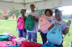 Backpack donations equip 200 Newark kids for new school year