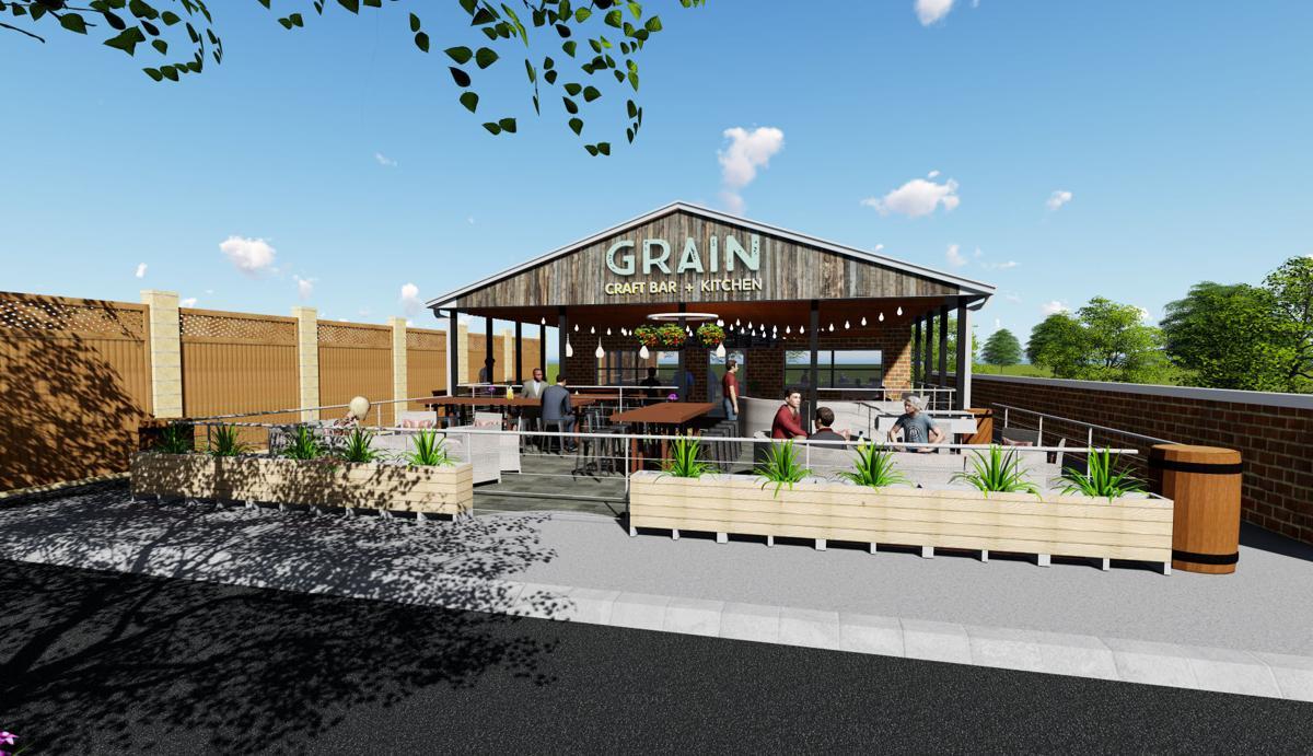 Board Approves Grain's New Outdoor Patio