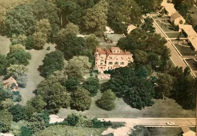 Out of the attic: Oaklands mansion - 1964