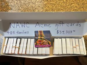 Generous donations allow Newark Area Welfare Committee to help 485 families buy food this Christmas