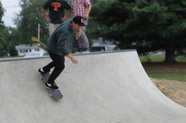 532a8309fb5e37 Newark s first skate spot opens in Handloff Park