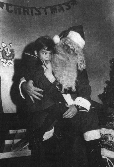 Newark Police Santa - 1972