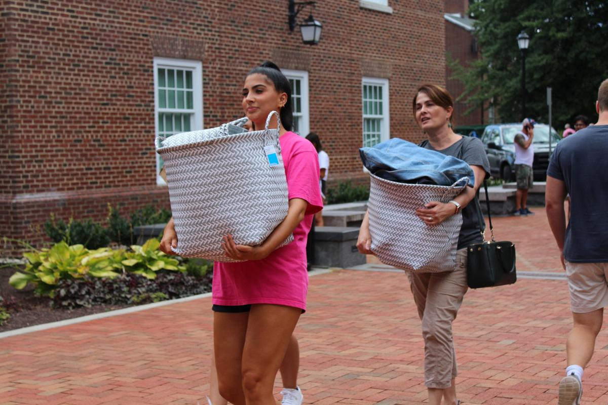 'Where I'm supposed to be': UD freshman class moves into the dorms