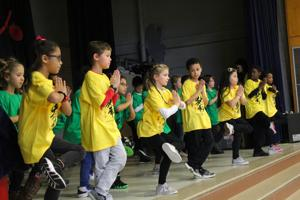 Downes Chinese immersion students celebrate Lunar New Year