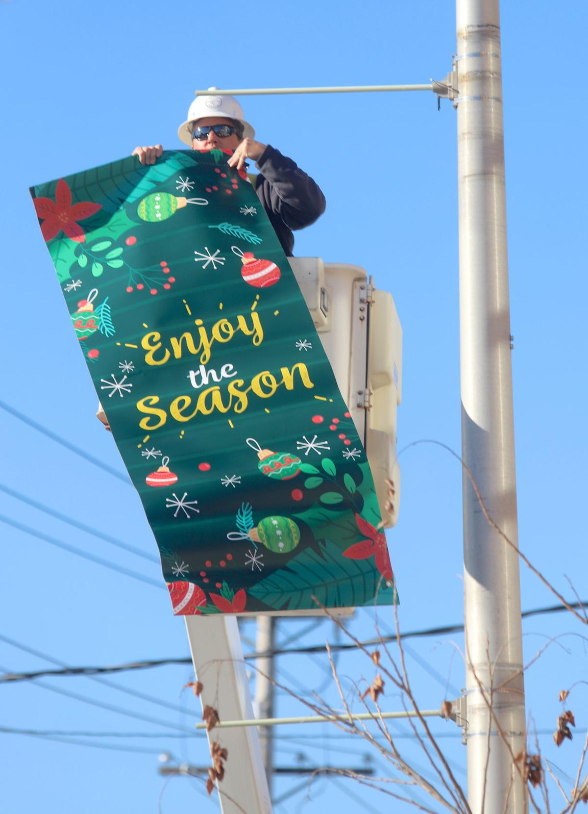 Newark Christmas banners