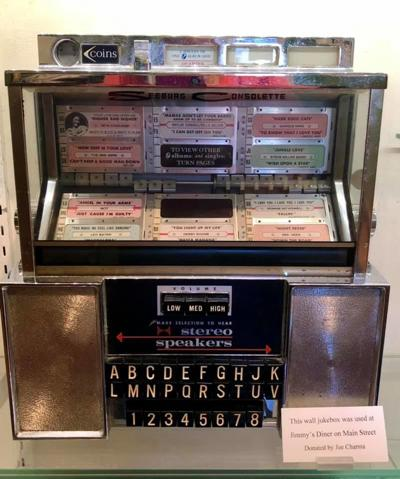 Out of the Attic: Jimmy's Diner jukebox