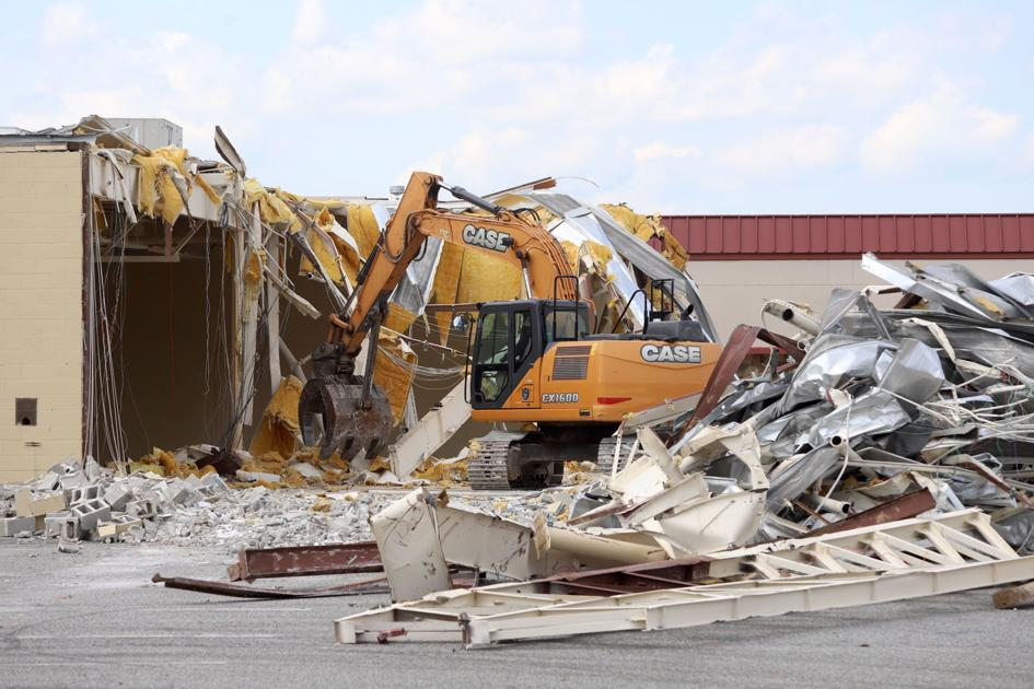 Demolition begins as College Square redevelopment kicks into gear