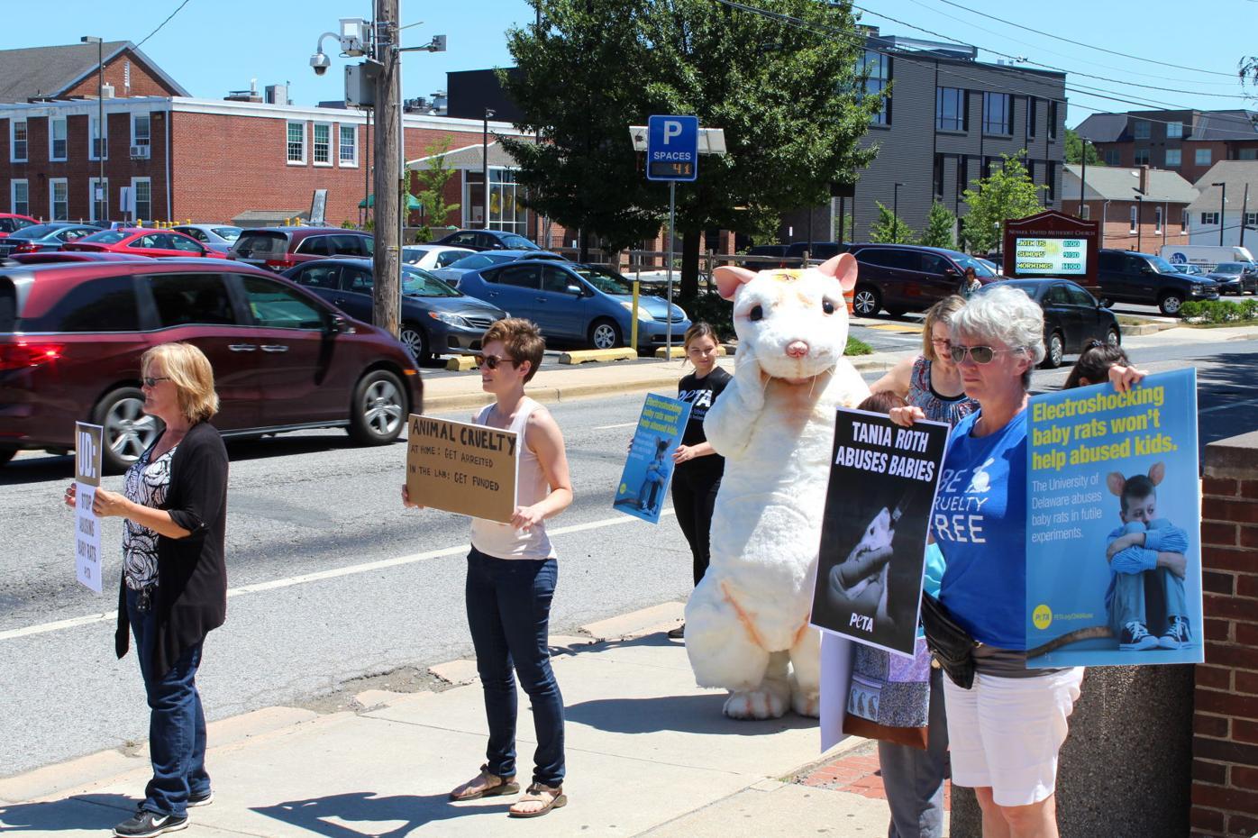 Rat protest