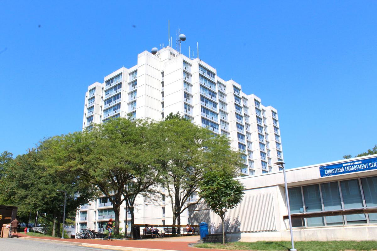 The A Towers Two 17 Story Apartment Style Dormitories On Ud S Laird Campus Are Scheduled For Demolition In 2023 Or 2024 Following