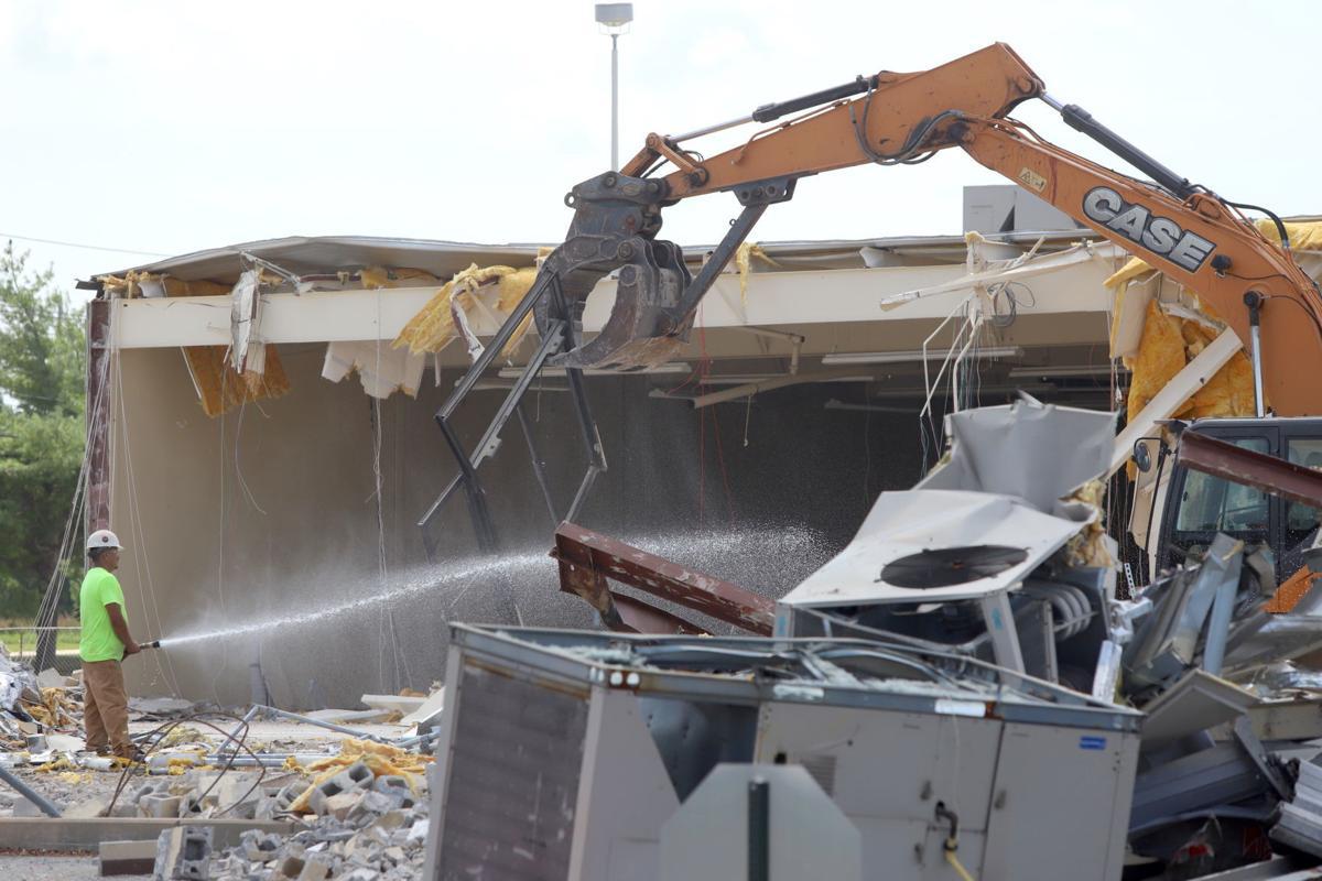 College Square demolition