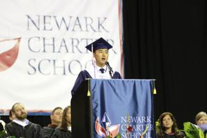 Newark Charter School graduates encouraged to 'do exceptional things'