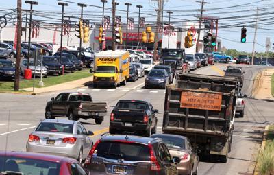 Cleveland Avenue traffic