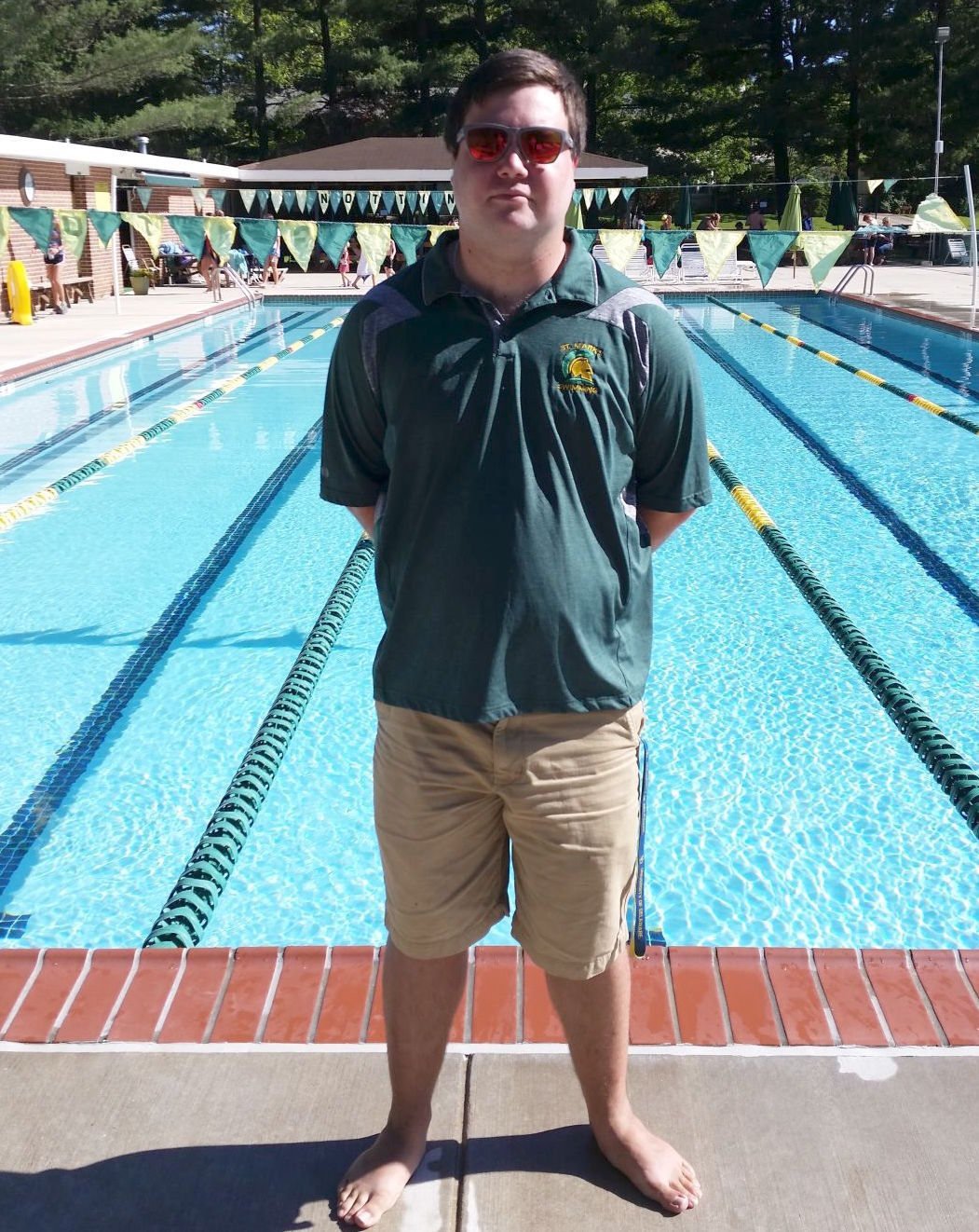 Tyler Coffing Takes Over Nottingham Swim Team Kids